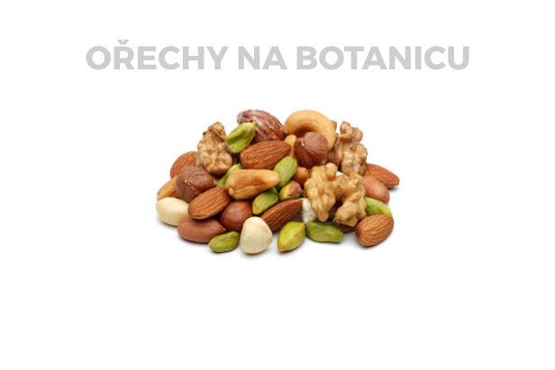 Ořechy na Botanicu