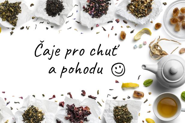 Ochutnejte voňavé a chutné čaje