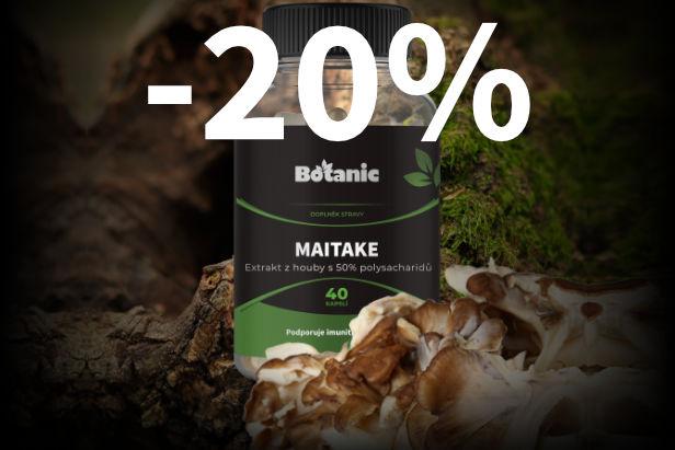 20% sleva na Maitake