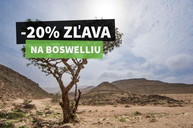 20% ZĽAVA na Boswelliu