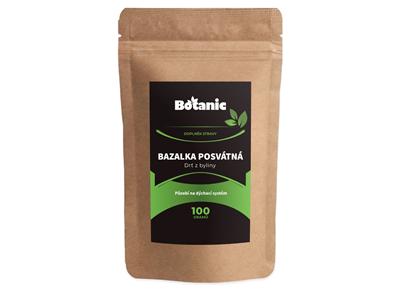 Levně Botanic Bazalka drť 100g