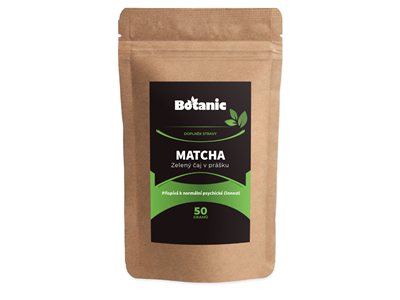 Botanic Matcha zelený čaj 50g